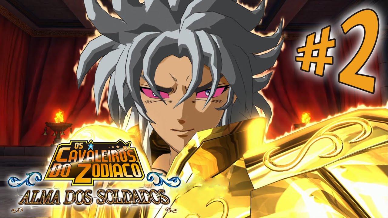 LUCKY SALAMANDER - Cavaleiros do Zodíaco Alma dos Soldados - Parte 2: O Mestre! [ Playstation 4 - Pl