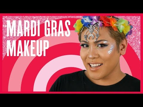 How To: Mardi Gras Makeup with Mr. Ken Denis | MECCA Beauty
