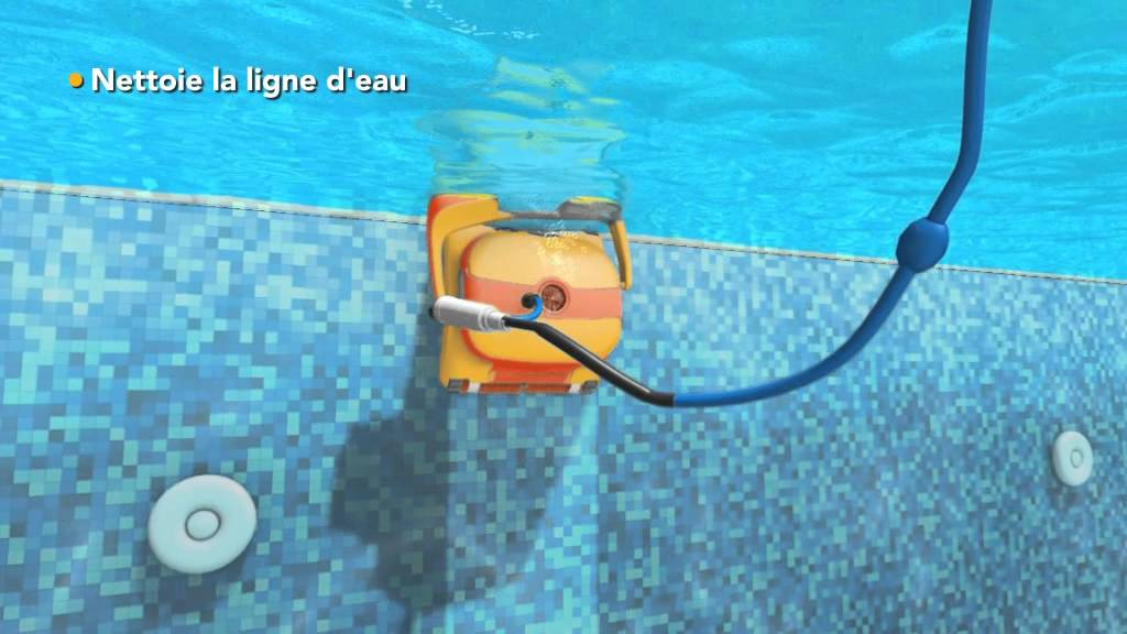 Dolphin select 620s everblue youtube for Robot piscine select