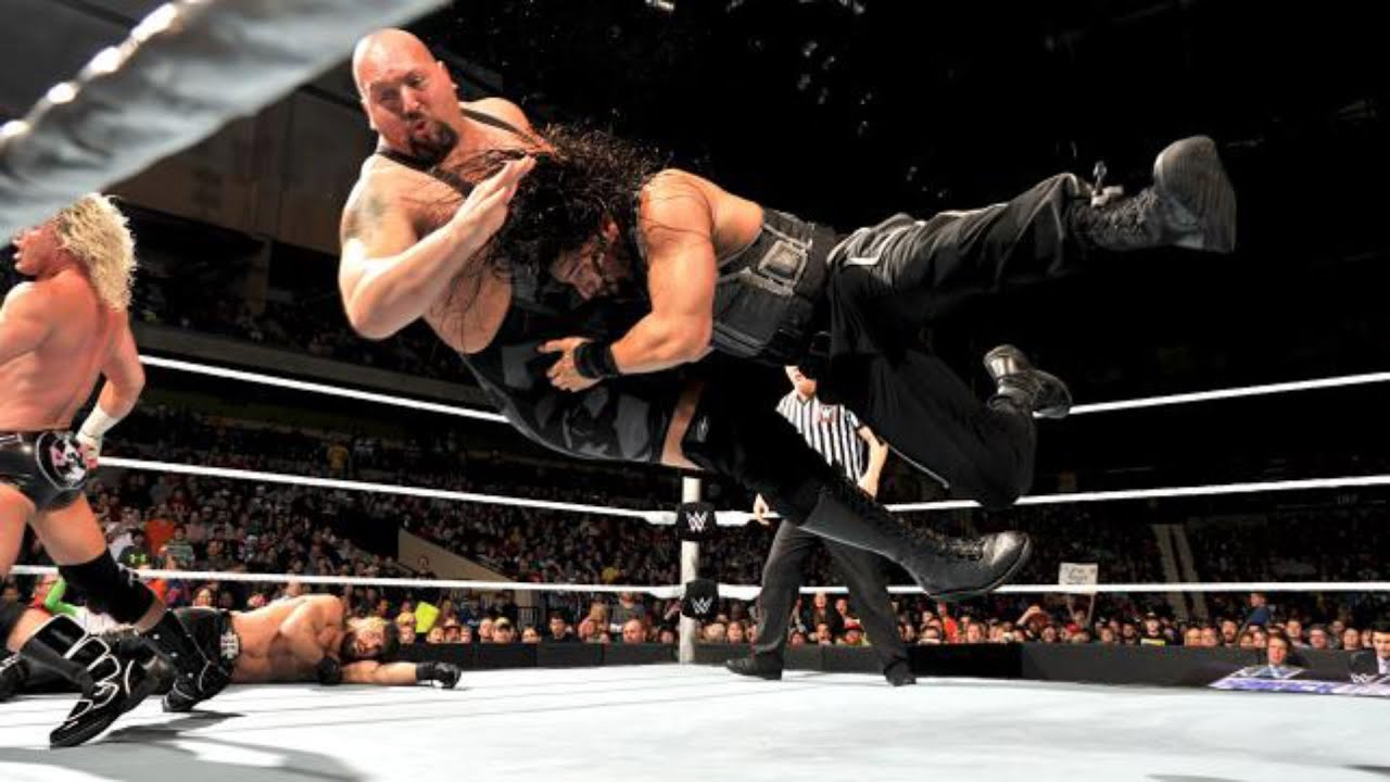 Wwe Royal Rumble 2015 : Roman Reigns vs Big Show (Last man ...