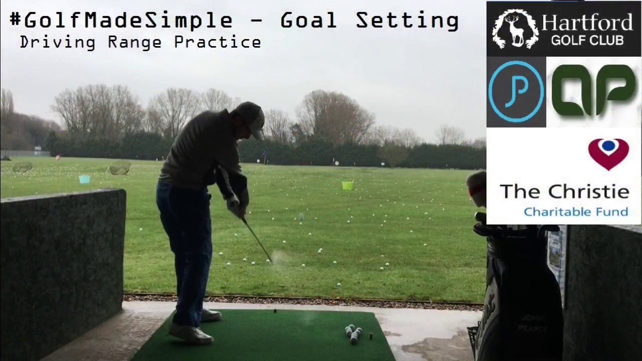 Golf, Driving Range Goal Setting