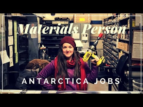 Antarctica Jobs - Materials Person