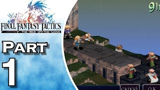 Let's Play Final Fantasy Tactics: The War of the Lions (Gameplay + Walkthrough) Part 1