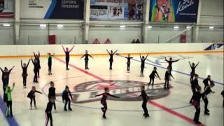 Фестиваль детского хоккея и фигурного катания в городе Дружковка  Ледовая арена Альтаир  31 05 2015