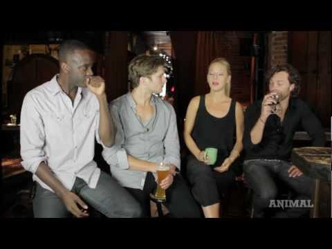 A SITDOWN WITH THE CAST OF