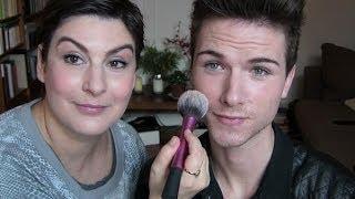 Maquillage quotidien léger pour les mecs, sur Raphaël