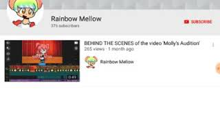 Mellow is back (her new yt is called rainbow mellow go sub to her!!!!)