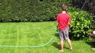 Zaléváme trávník