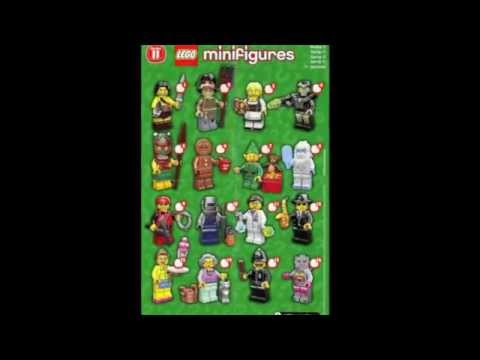 LEGO News: New 2013 Minifigures Series 11!