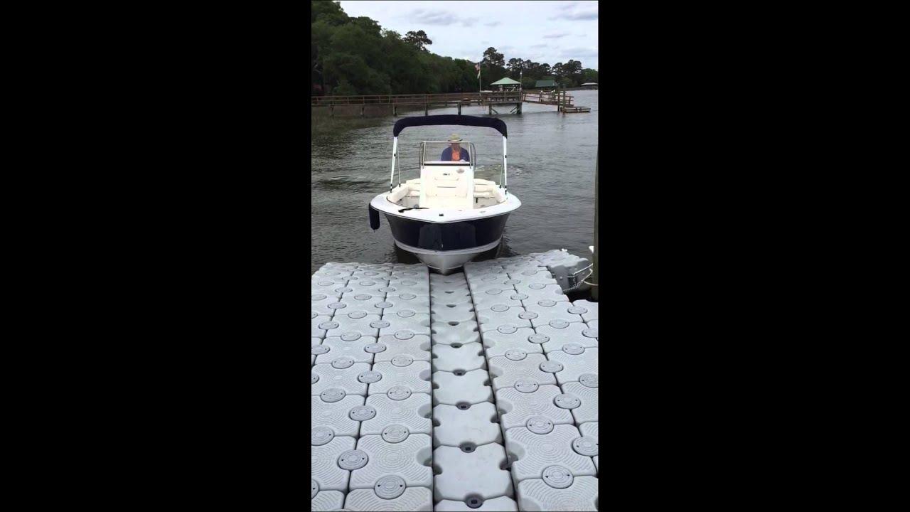 Dock Blocks Drive On Boat Lift For Sea Hunt 196 Center