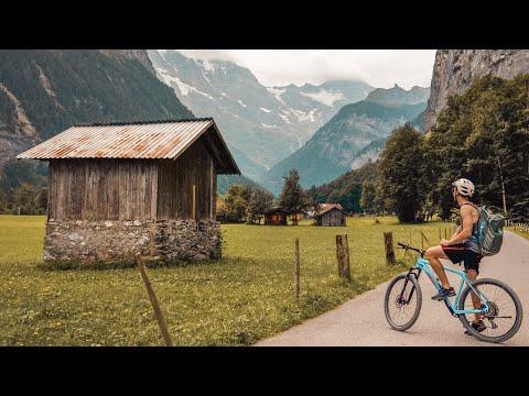 Biking Interlaken and the Swiss Alps!