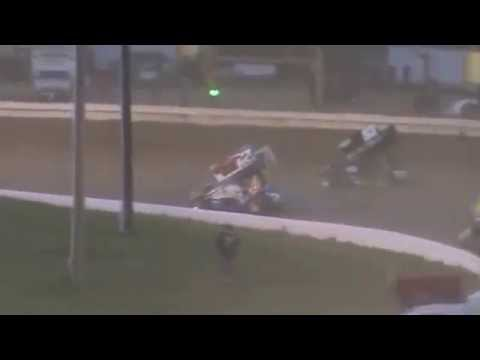 AJ Flick 410 Sprint - Roaring Knob - May 18, 2014