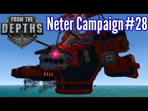 From The Depths | Ep 28 | Bloodhound Titan Bloodbath! | Neter Campaign Gameplay
