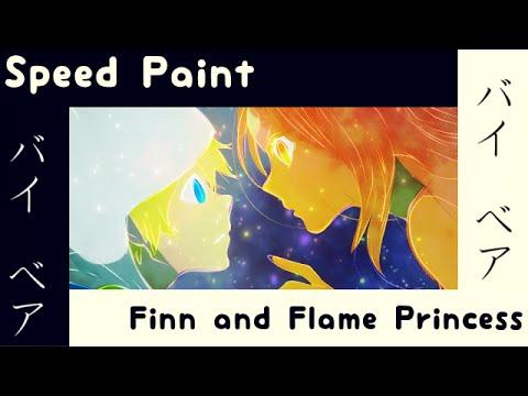 Speed Paint - Finn 'n Flame Princess