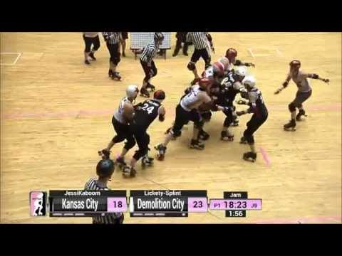 Game 17: Demolition City Roller Derby v Kansas City Roller Warriors