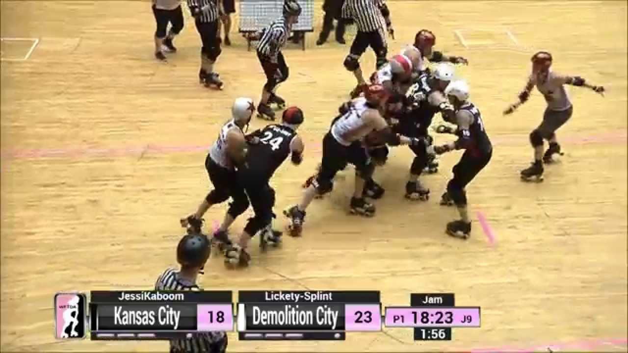 Roller skates kansas city - Game 17 Demolition City Roller Derby V Kansas City Roller Warriors
