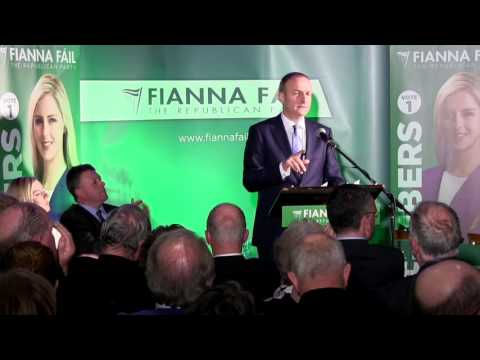 Micheál Martin's speech at Lisa Chambers general election campaign launch in Castlebar