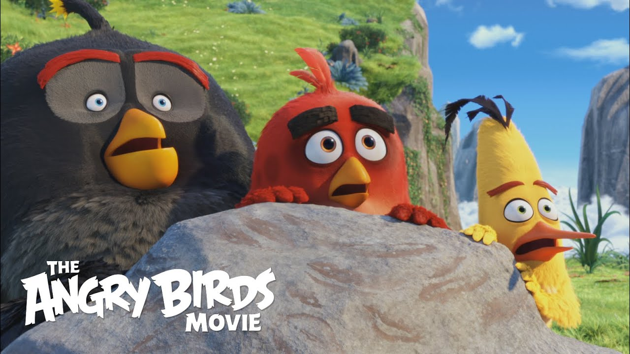 THE ANGRY BIRDS MOVIE - Official Theatrical Trailer (HD) - YouTube