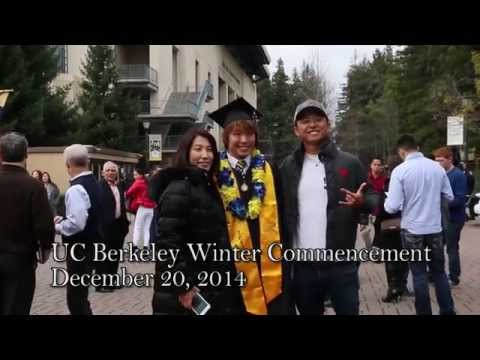 Graduates attend UC Berkeley winter commencement