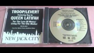"""Troop/Levert Feat. Queen Latifah - For The Love Of Money/Living For The City (Extended 12"""" Mix)"""