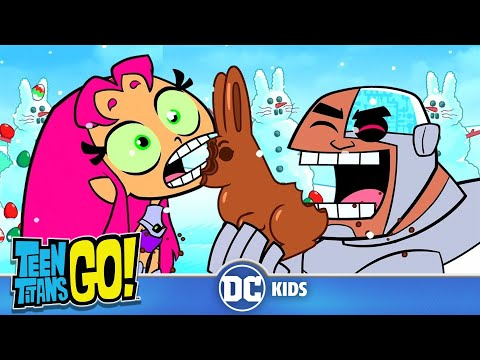 Teen Titans Go! | How The Santa Stole Easter | DC Kids
