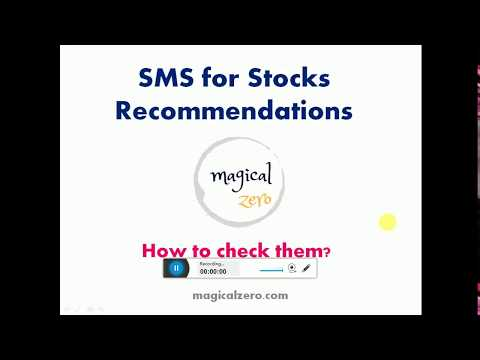 Unsolicited SMS for Stocks Recommendations