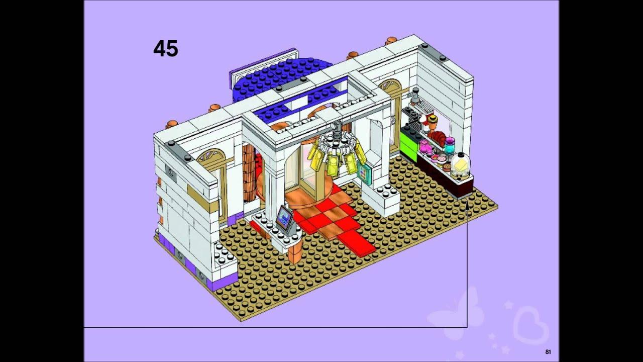 Lego Friends 41101 Heartlake Grand Hotel Building Instructions