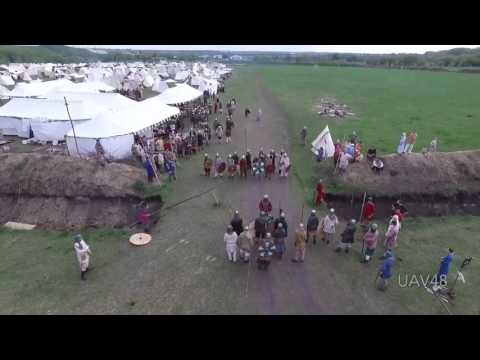 Tanner and Drew - Drone Over Middle Ages Festival Taken Down With Spear