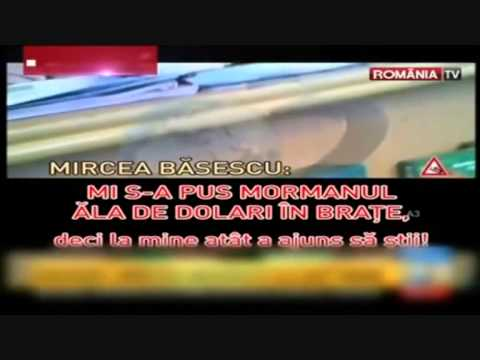 Traian Basescu's brother corruption SCANDAL - real footage