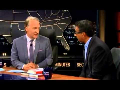 Dinesh D'Souza talks to Bill Maher about Obama and colonialism