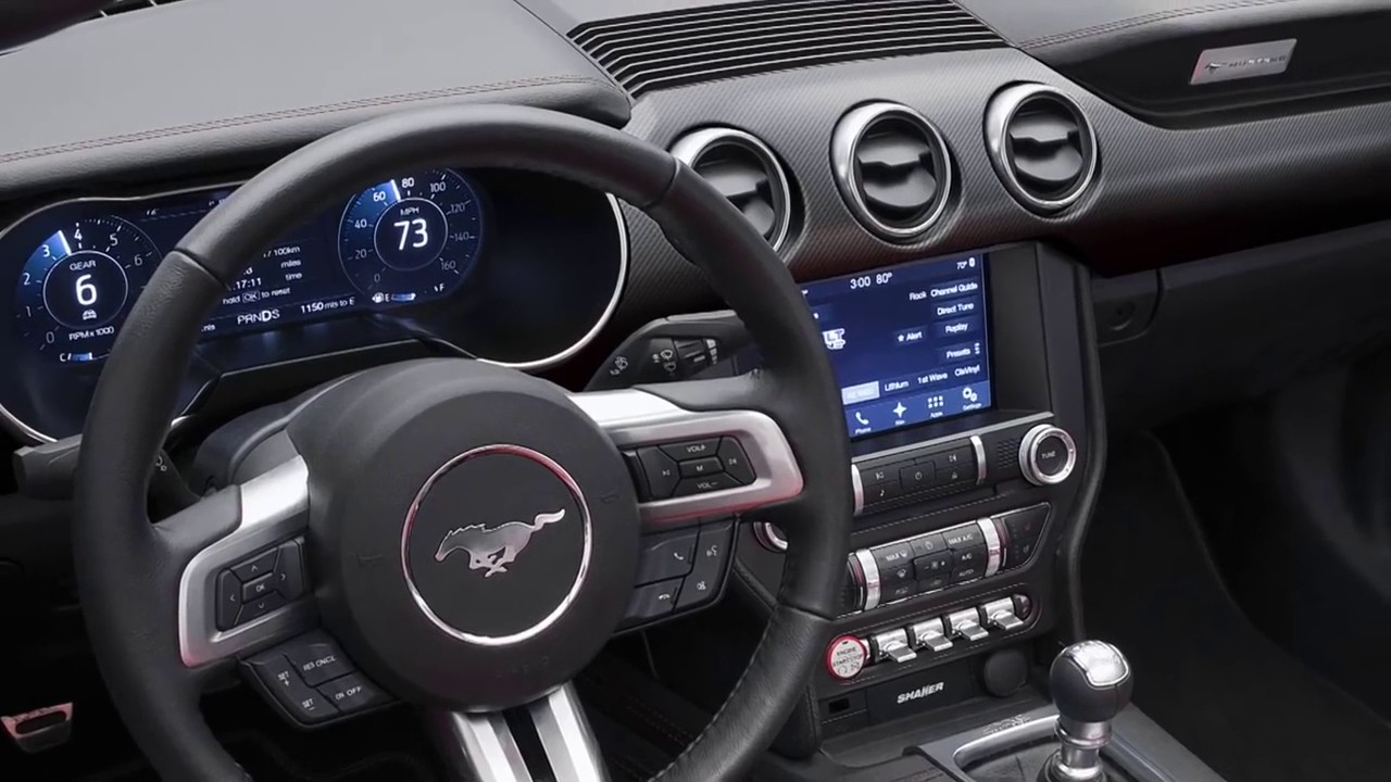 2015 Ford Mustang Gt Convertible The 2018 Ford Mustang: See the differences - YouTube