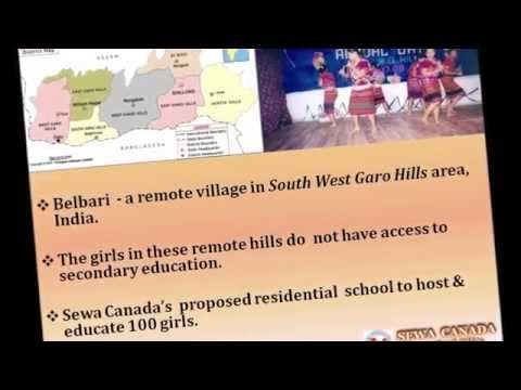 Sewa Canada International School Project for Under-Privileged Girls