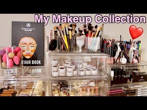 MY MAKEUP COLLECTION AND ORGANIZATION - IRISBEILIN