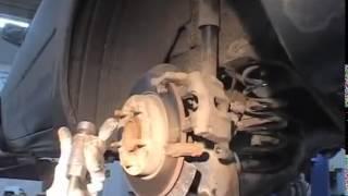Замена задних тормозных колодок Мазда 3