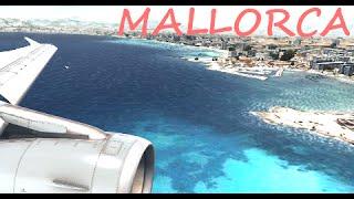 A319 Mallorca Landing (+FS2Crew)