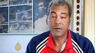 Subscribe to our channel http://bit.ly/ajsubscribecuba's three time olympic boxing champion teofilo stevenson has died at the age of 60, after suffering a he...