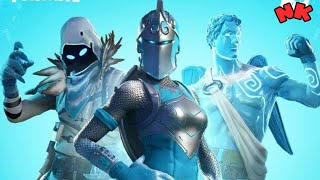 FORTNITE-How to get the skins from the frozen legends Ensemble.