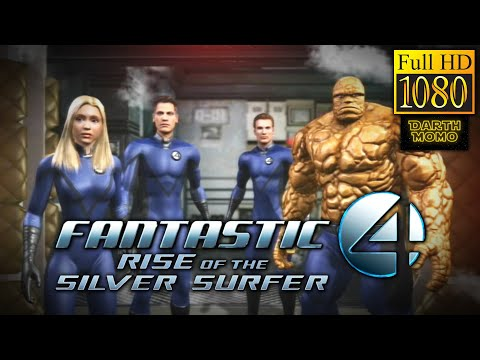 Fantastic Four: Rise of the Silver Surfer Full Game Movie [Full HD 1080p]