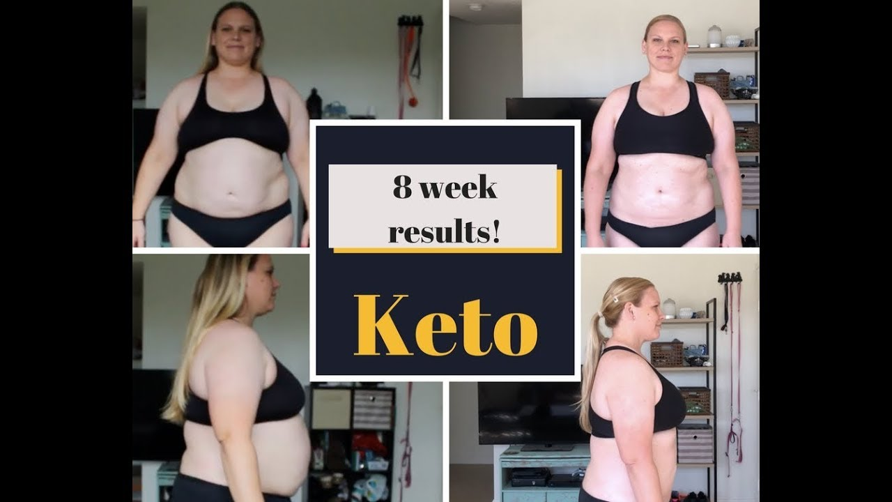 keto diet before and after results