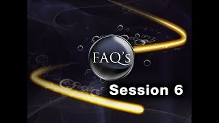 Addiction - Sanctification and the Command to Serve - Session 6 FAQ