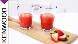 Frozen Strawberry Virgin Daiquiri Recipe For Your Kenwood Blend-x Pro Blender