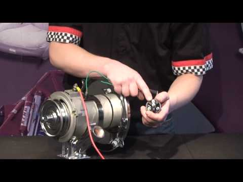 hqdefault vw & dune buggy alternator wiring youtube VW Alternator Hook Up at bayanpartner.co
