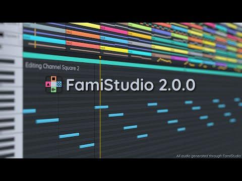 FamiStudio 2.0.0 - Release Trailer