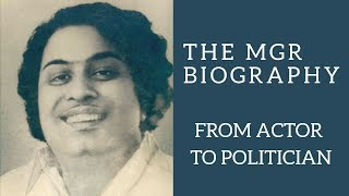 Life history of MGR | Biography | Actor to Politician | YouVlogs