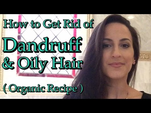 how to get rid of dandruff oily hair with organic recipe youtube. Black Bedroom Furniture Sets. Home Design Ideas