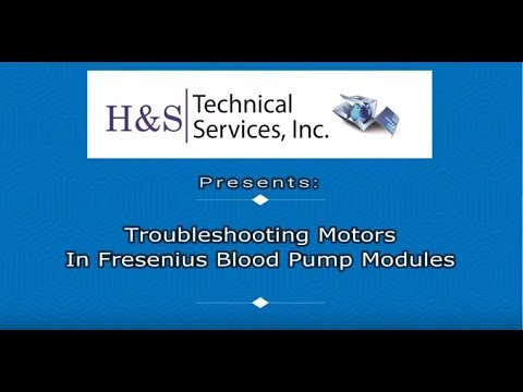 Fresenius Blood Pump Modules Troubleshooting Video By H S Technical Services By H S Tech Support