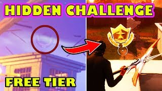 *SECRET* WEEKLY CHALLENGE! Get A Free Battle Pass Tier! Fortnite Week 1