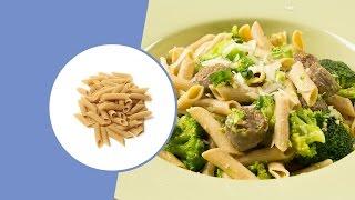 Koolhydraatarme Penne van Ciao Carb Met Parmezaanse Kaas en Worst | Diner | Recept | Protiplan