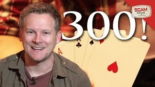 300th Episode!  (Oh. And a RAD Card Trick)
