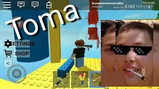 Batalhas nas torres, Bryan vs edu (Roblox)